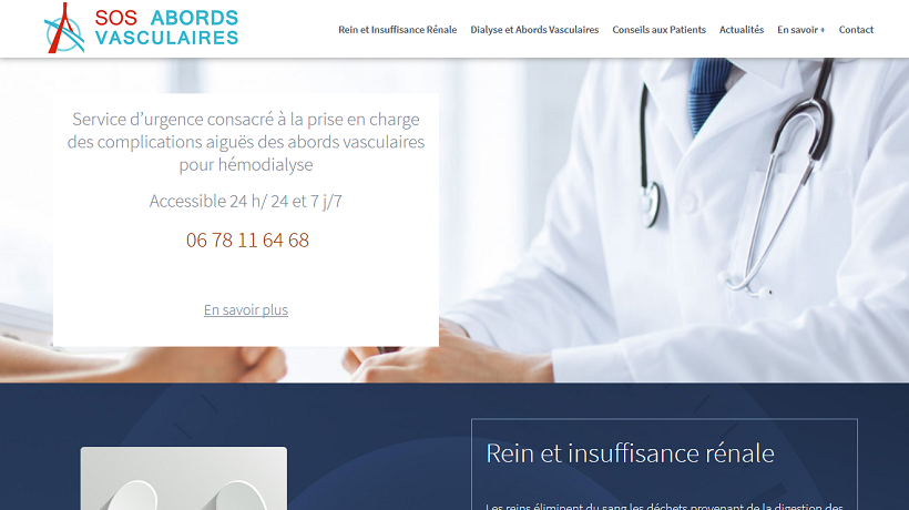 site sos abords vasculaires